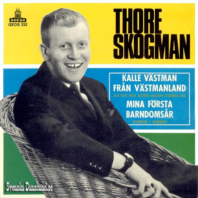 Thore Skogman - Strömmingsleken 1984
