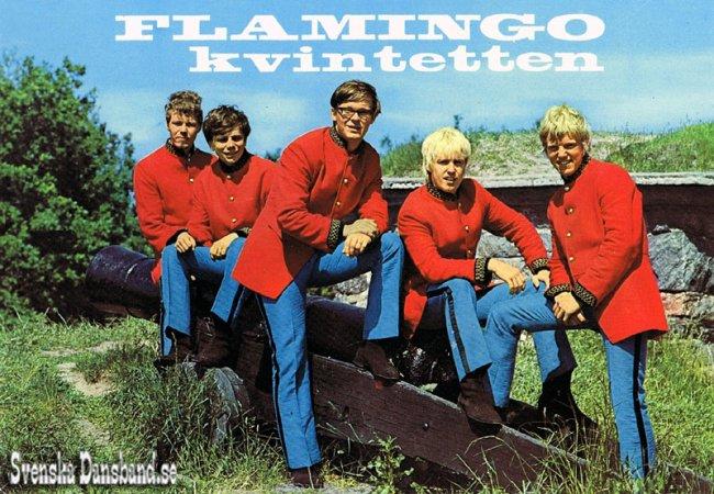Flamingokvintetten - Flamingokvintetten - 45 År I En Box, De Första 45 Åren Med Flamingokvintetten