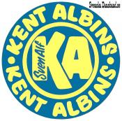 KENT ALBINS (decal)