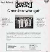 "NORRSKEN LP (1976) ""C'mon let's twist again"" B"
