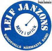 LEIF JANZONS (decal)